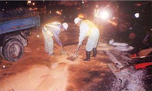 ACライト 路面用油・液体吸着材